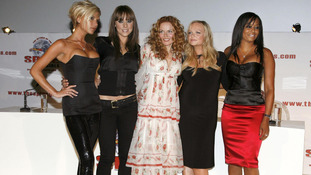 The Spice Girls have reunited to read initial scripts for a musical based on their career