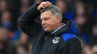 Sam Allardyce sacked from Everton