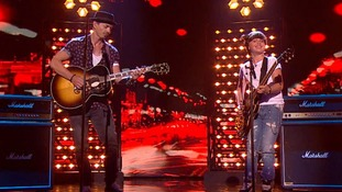 'We were not perfect...but still very proud': Father and son Jack and Tim Goodacre through to Britain's Got Talent final