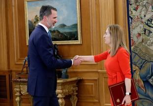 Ana Pastor and King Felipe VI