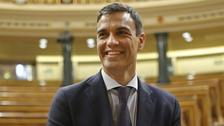 Socialist leader Pedro Sanchez will be sworn in on Saturday.