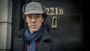 Sherlock star Benedict Cumberbatch 'saves cyclist from attack'