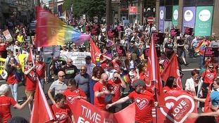 Equality rally