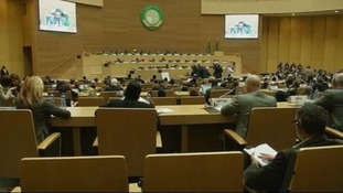 The international donors conference in Addis Ababa.