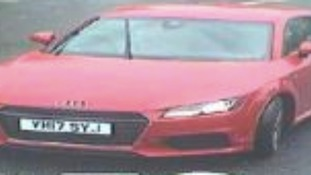 Police are appealing for help in tracing this car