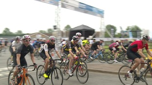 Tour of Cambridgeshire attracts 8,000 cyclists over weekend of amateur cycling