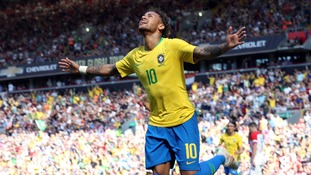 Neymar shines on return from injury as Brazil beat Croatia at Anfield