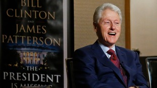 Bill Clinton teams up with James Patterson for new novel The President Is Missing