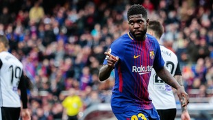 Man United target Umtiti has confirmed his commitment to Barcelona insisting his future lies with the La Liga champions