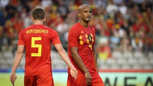 Man City captain Vincent Kompany is facing a race against time to be fit for the Fifa World Cup due to a groin injury