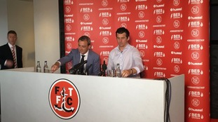 Joey Barton takes charge at Fleetwood