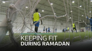 Welsh Muslims taking part in midnight sports sessions this Ramadan