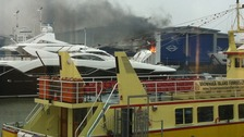 Sunseeker factory fire