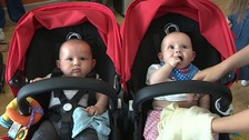 Coping with being pregnant with twins and triplets is tough.