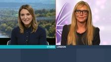 Kylie Pentelow spoke to Carol Vorderman about the Pride of Britain Awards.