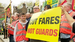 Members of the RMT union on Arriva Rail North will strike later this month.