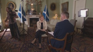 One of several interviews with current First Minister Nicola Sturgeon