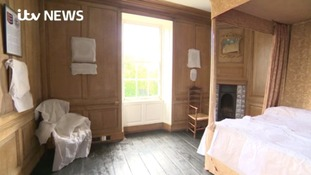 Historic house's newly opened first floor reveals secrets of royalty and writers