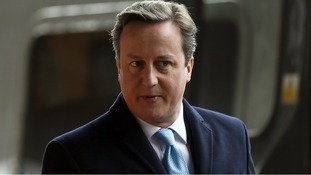 David Cameron was in Leeds for a regional Cabinet meeting yesterday