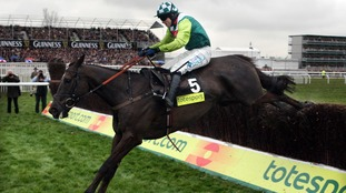 Sam Thomas riding Denman in his winning Gold Cup race at Cheltenman