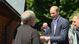 Duke of Cambridge visits Isle of Man charity during TT Races