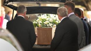 Former England players among mourners at funeral of 1966 World Cup winner Ray Wilson