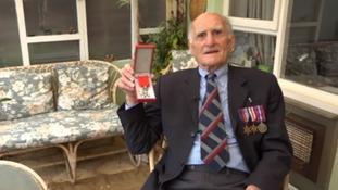 World War II veteran honoured by France insists he's no hero