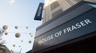 House of Fraser to close two stores in Wales as part of plan to save the business