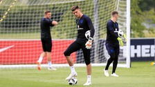Nick Pope is expected to earn his first cap against Costa Rica.