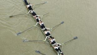 Oxford crew in Boat Race