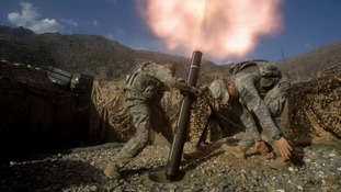 US soldiers during the Afghanistan War