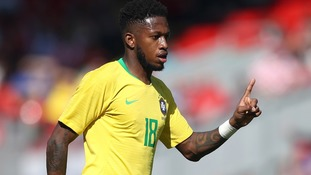 Manchester United's Fred suffers injury scare ahead of World Cup