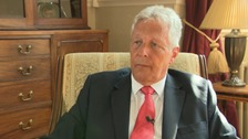 Peter Robinson is taking up his new role as honorary professor at Queen's.