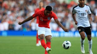 World Cup warm-up: England beat Costa Rica 2-0 at Elland Road with goals from Marcus Rashford and Costa Rica