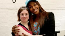 Jen Blackwell, founder of DanceSyndrome, met Alexandra Burke at Pineapple Studios