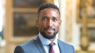 Footballer Jemain Defoe, who lived in Hertfordshire, has been given an OBE for services to the Jermain Defoe Foundation.