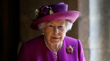 The Queen looked well today at Westminster Abbey.