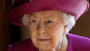 The Queen showing 'no obvious sign of treatment' following eye surgery