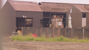 Scrap metal recycling plant