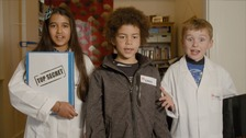 Children from Luton and London are taking part in the study to effects of air pollution.