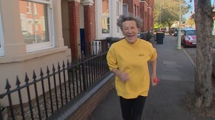 Iva Barr from Bedford ran her 20th London Marathon when she was 88 and now had a British Empire Medal.