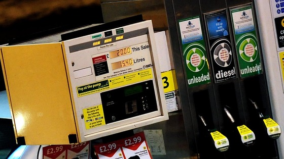 The UK has the thirteenth highest petrol price in Europe 