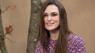 Keira Knightley has been recognised for her contribution to drama and charity.