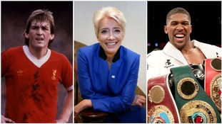 Kenny Dalglish, Emma Thompson and Anthony Joshua among stars on Queen's Birthday Honours list
