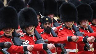 Guardsman hopes turban at Trooping the Colour marks 'new change in history'