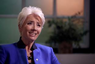 Emma Thompson has been honoured for services to drama.