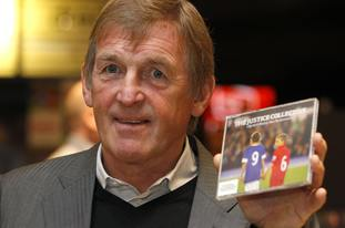 Liverpool legend Kenny Dalglish was honoured for his contributions to cancer and Hillsborough campaigns.