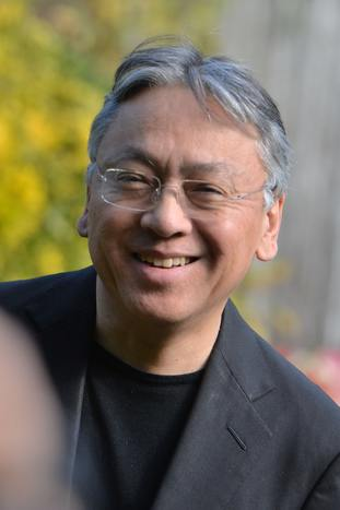 Author Kazuo Ishiguro is knighted for his services to literature.