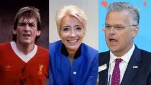 Kenny Dalglish and Emma Thompson lead honours list as Mark Carne's CBE condemned