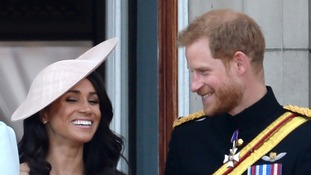 In pictures: Duchess of Sussex experiences first Trooping the Colour parade